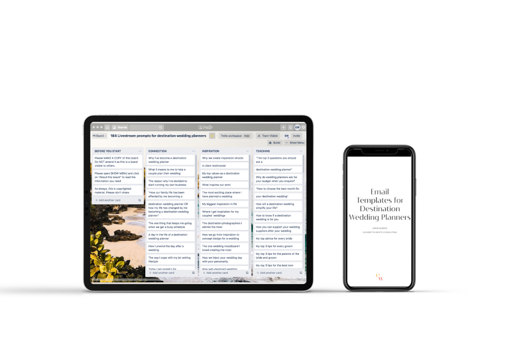 iPad and iphone with image of resources bundle